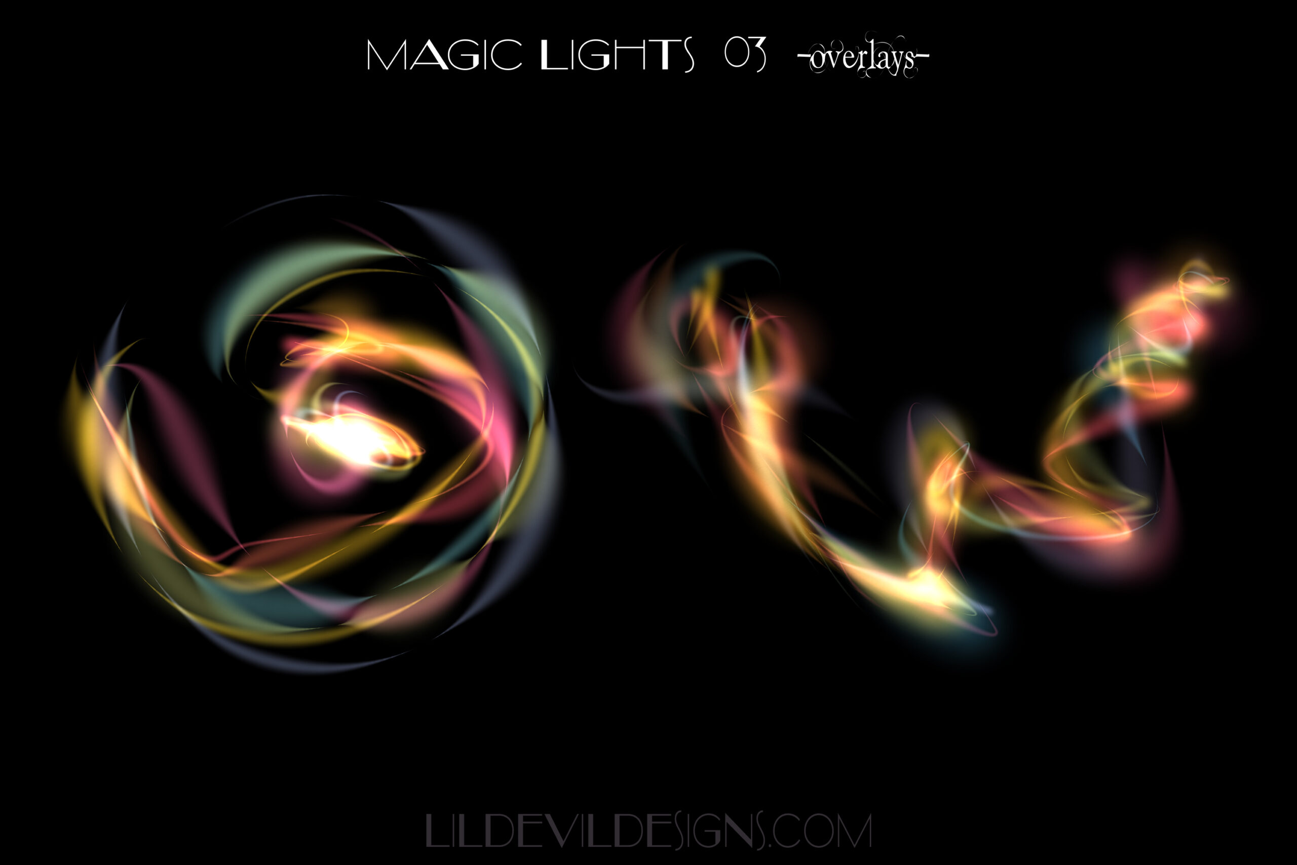 Magic Lights Overlays #3 Preview